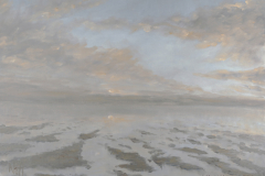 Einlaufende Flut, Fanoe; Öl, 36 x 48; 2010