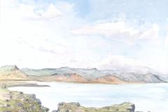 Südküste Halbinsel Snaefellsnes, Island Aquarell; 24 x 32 cm; 2016