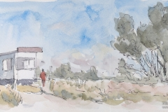 Kloster, Am Rettungsturm